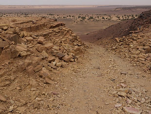 Passe d'N'Tnhaye Guelb El Richat Adrar Mauritanie