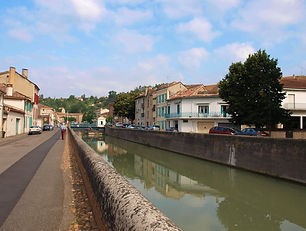 Moissac, canal