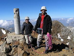 Jacques BAYSSET, Alexandre BAYSSET, sommet du Vignemale