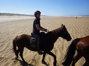 Romain Marcais, Le Bourdiou, Ecuries du Bourdiou, Le Porge, Equitation, Cheval, Randonnée Equestre