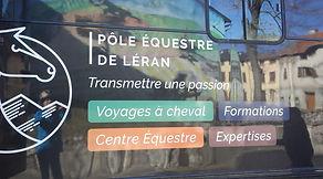 Philippe Labeda, pôle equestre Leran, camurac, cheval, randonnées, équestre, équitation