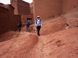 Maroc, Haut-Atlas, Tourbiste