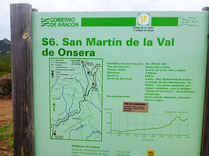 Sierra de Guara, Val d'Onsera