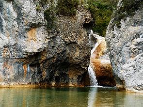Barranco de la Pillera, sierra de guara
