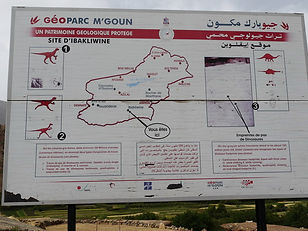 Dinosaures, Aït Bougmez, Atlas, Maroc