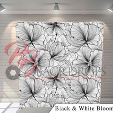 Black and White Blooms
