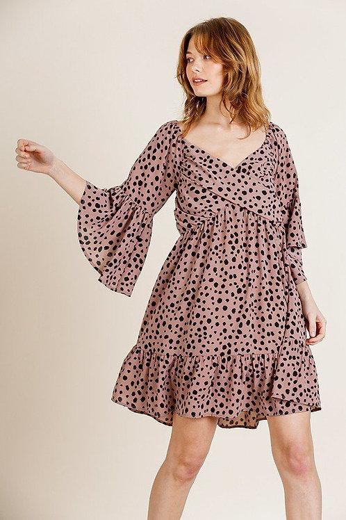 Marshall Dalmatian Print Dress