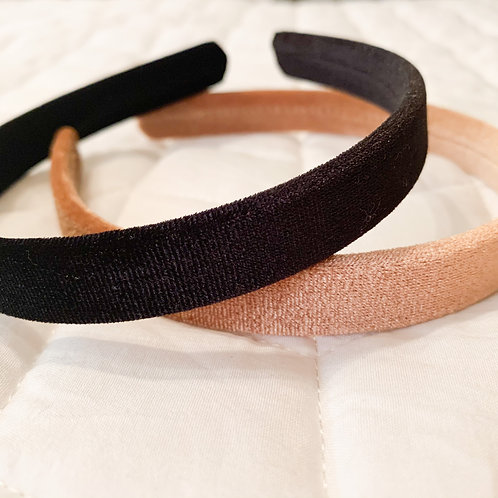 Velveteen Headband Set