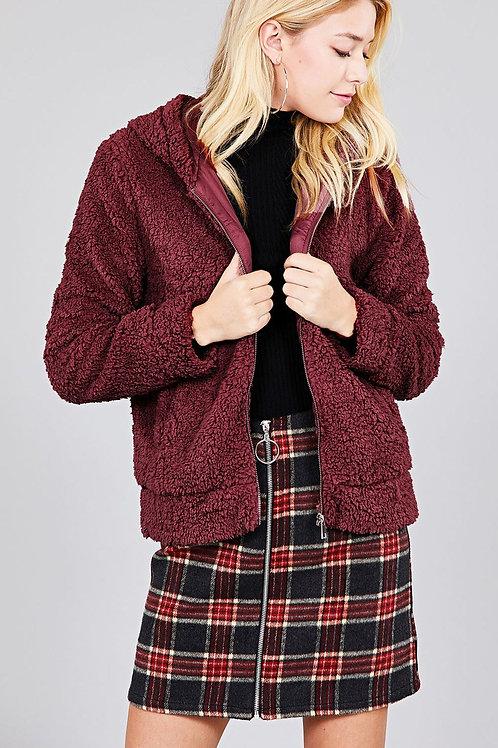 Hazel Sherpa Jacket