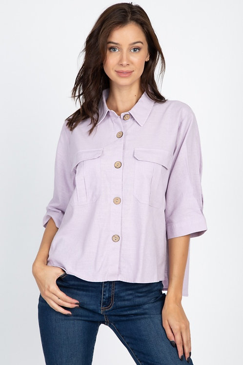 Dawn Button Down Blouse