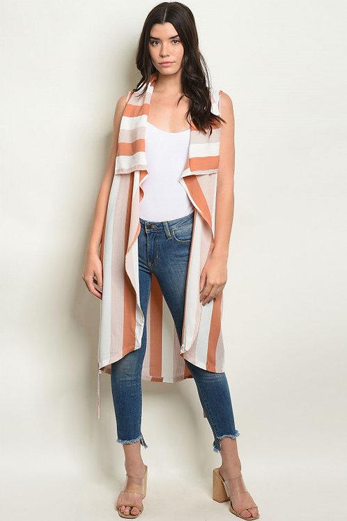 Lana Striped Vest