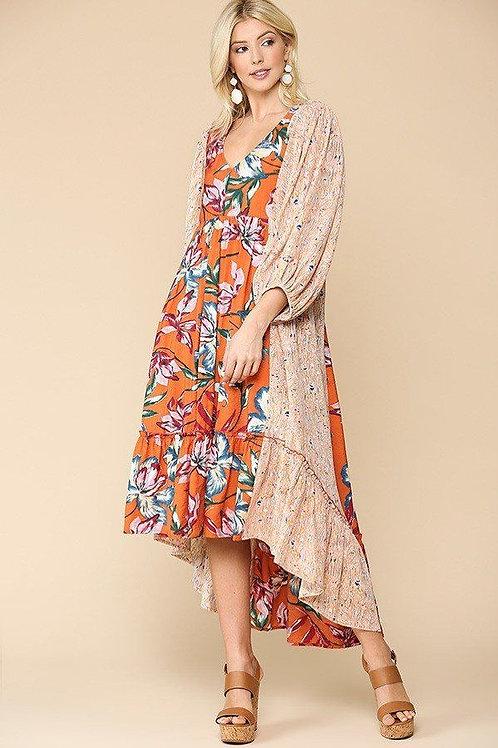 Juliette High Low Dress