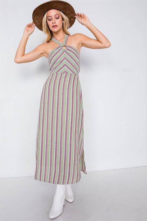 Nancy Striped Maxi Dress