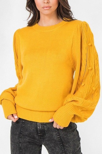 Kim Puff Sleeve Sweater