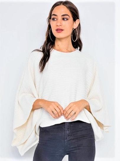 Diane Knit Poncho Sweater