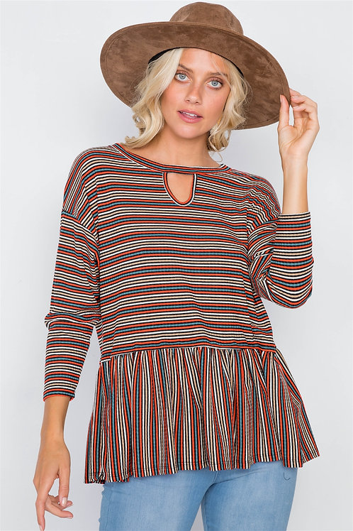 Birdie Stripe Top