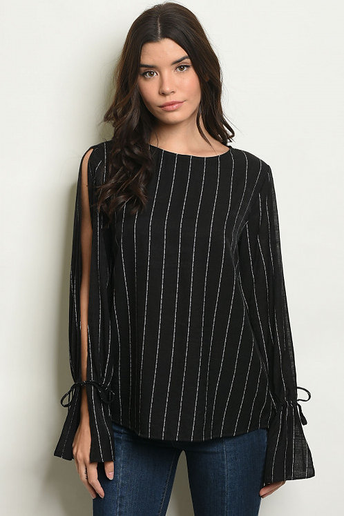 Erica Striped Blouse
