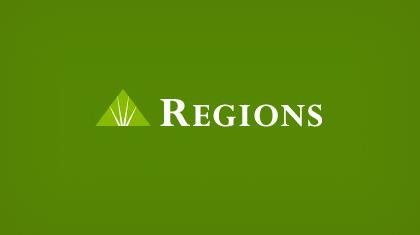 New Orleans Regions Bank Logo