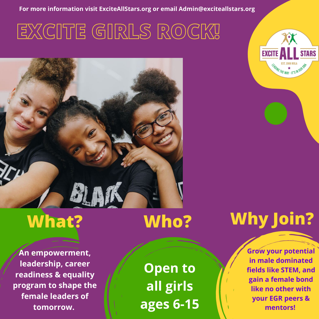 Join us for Excite Girls Rock!