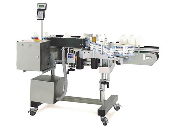 Model CVC310 Gallon Wrap Labeler
