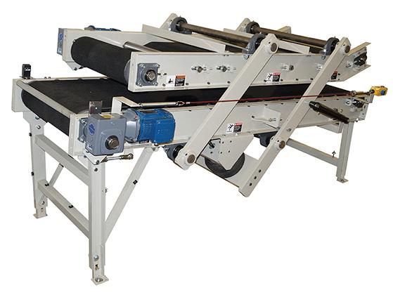 Model 5100 Flattening Bag Conveyor