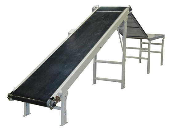 Model 5000 Flattening Bag Conveyor