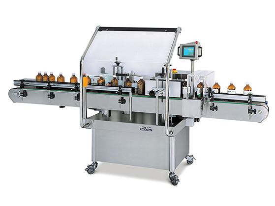 Model CVC302 High-Speed Wrap Labeler
