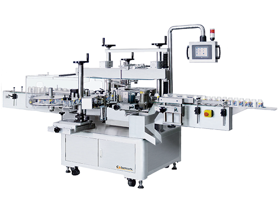 Colamark A923 Front & Back with Orientated Round Bottle Labeling System