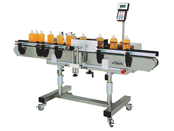 Model CVC300-X Spindle Wrap Labeler