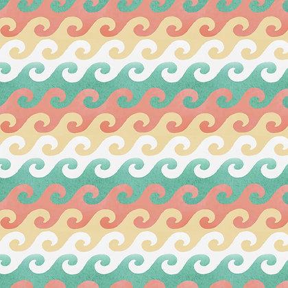 Beach Travel by Beth Albert - Waves