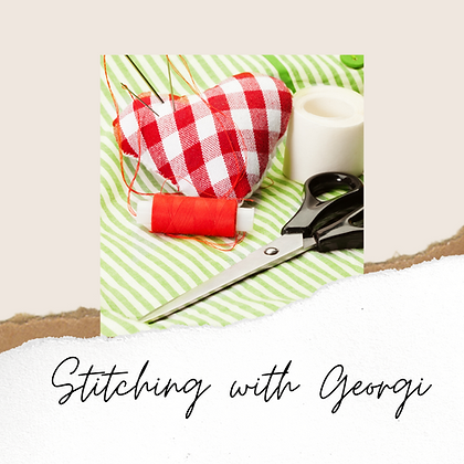 Stitching with Georgi - Thursday 22/APR/2021