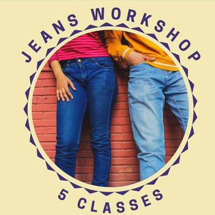 Jeans with Nat - 11/OCT/21 - 15/NOV/21 - 5 Classes
