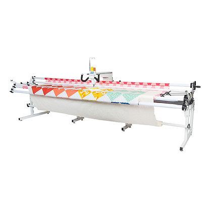 Janome Quilt Maker Pro 18 with Prostitcher Robotics