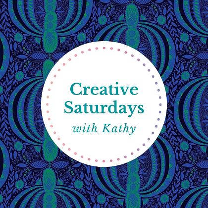 Creative Saturdays - Saturday 24/JUL/2021