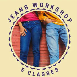 Jeans with Nat  11/OCT/21 - 15/NOV/21 - 5 Classes