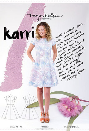 KARRI DRESS PATTERN by Megan Nielsen