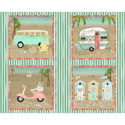 Beach Travel by Beth Albert (panel)