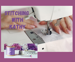 Stitching with Kathy