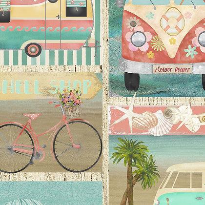 Beach Travel by Beth Albert - Patch