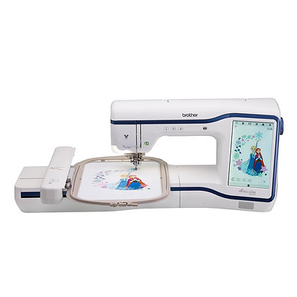 Brother Stellaire XE1 Embroidery Machine with My Design Snap Mobile App