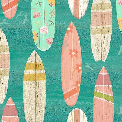 Beach Travel by Beth Albert -  Surf Boards