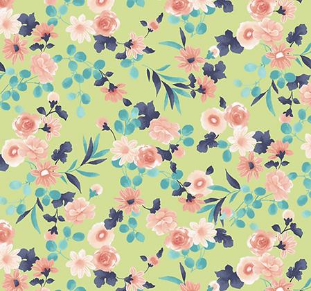 Blushing Dots  | Little Garden Green