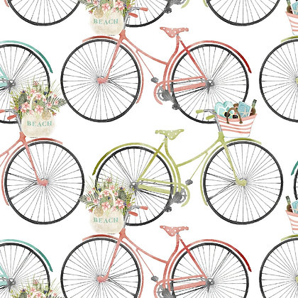 Beach Travel by Beth Albert - Bicycles