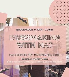 Dressmaking with Nat