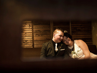 Volo Restaurant Wine Bar Wedding Photos / Chicago / Melissa and Sean