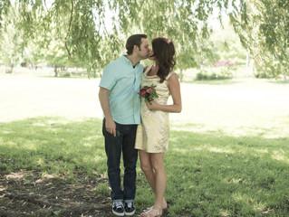 Winnemac Park in Chicago Wedding Couple Portraits