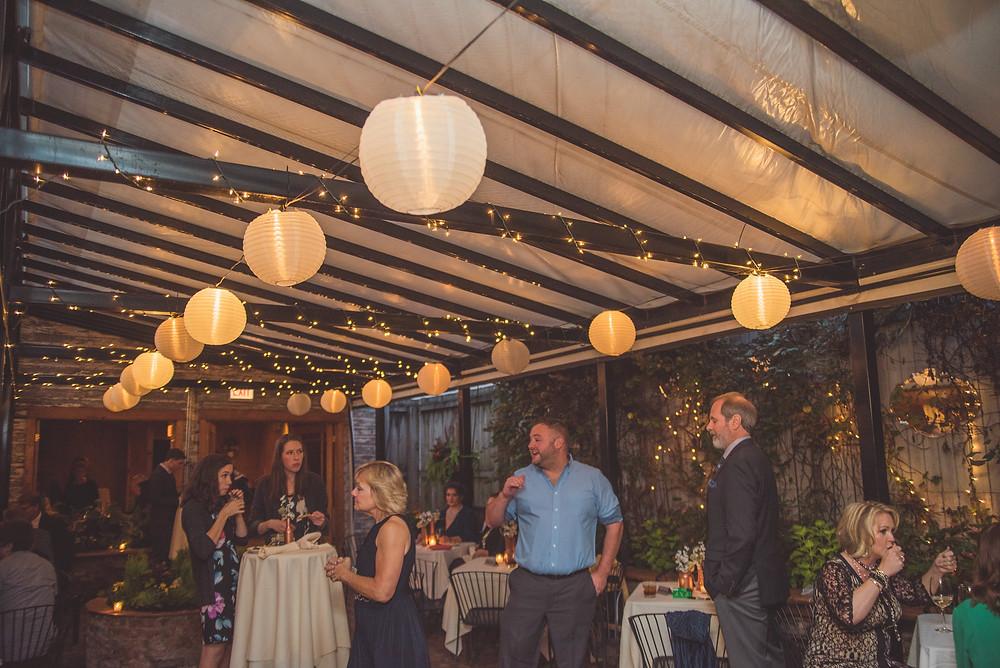 Volo Restaurant Wine Bar in Chicago, Wedding