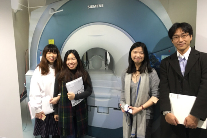 fMRI trip to CINET, Osaka