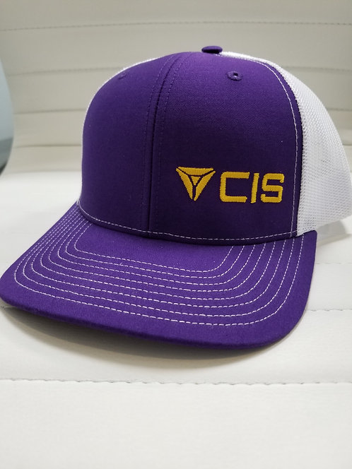 CIS PURPLE & GOLD HAT