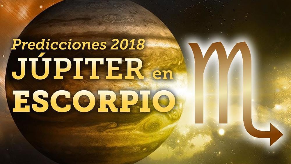 """Jùpiter en Escorpio/2018 - Jyotish, """"Ciencia de la Luz"""""""